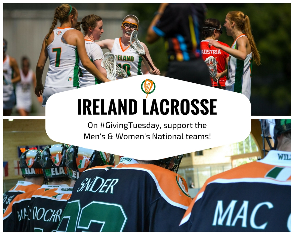 Ireland Lacrosse #GivingTuesday